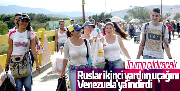 Rusya Venezuela'ya yeni yardım gönderdi