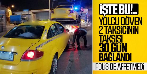 Yenikapı'da pazarlık yapan taksicilere 4 bin 530 lira ceza