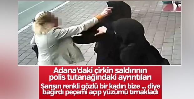Adana'da başörtülü kızlara saldırı