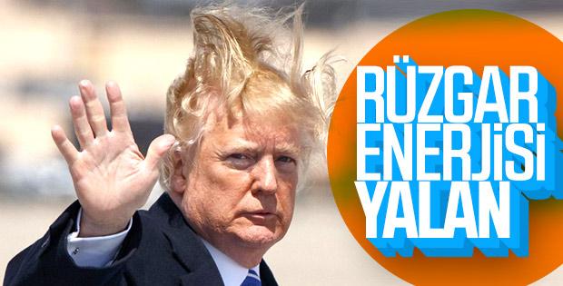 Trump'tan rüzgar enerjisine veto