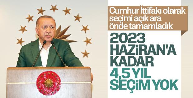 Cumhurbaşkanı Erdoğan seçim sonuçlarını yorumladı
