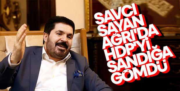 AK Parti adayı Savcı Sayan Ağrı'da kazandı