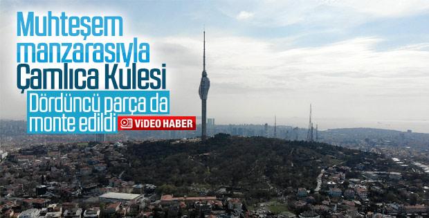 Çamlıca Kulesi manzarasıyla ilgi odağı