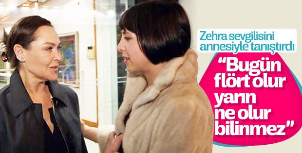 Hülya Avşar Zehra'nın sevgilisiyle görüştü