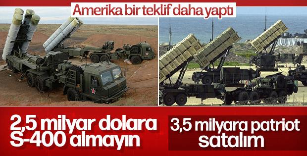 ABD'den Türkiye'ye Patriot teklifi