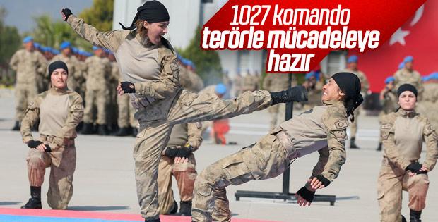 Jandarma uzman erbaşlar yemin etti