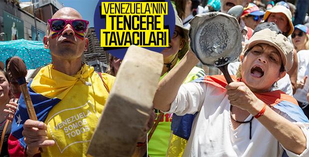 Venezuela'da muhalifler sokaklara çıktı