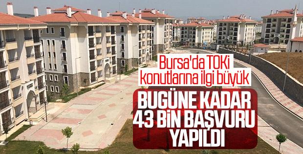 Bursa'dan TOKİ projesine rekor başvuru