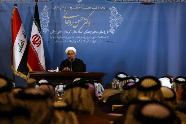 Ruhani ABD'yi tehdit etti