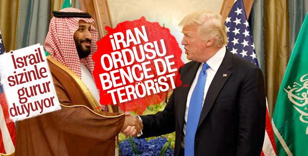 ABD'nin İran kararına ilk destek Suudi Arabistan'dan