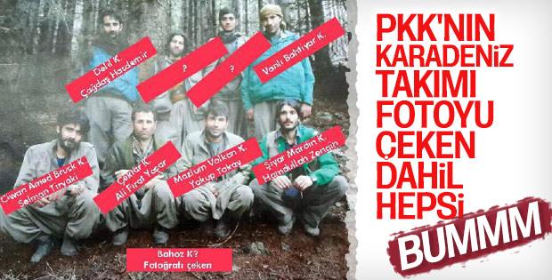 Teröristlere Karadeniz'de nefes yok