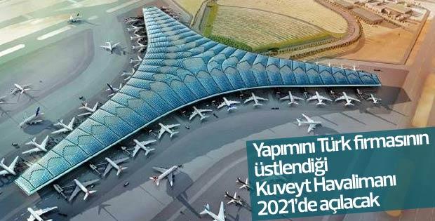 Kuveyt Havalimanı'na Türk imzası