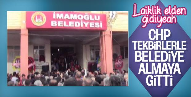 İmamoğlu Belediye Başkanı Karaköse görevine başladı