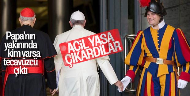 Vatikan cinsel taciz için yasa çıkardı