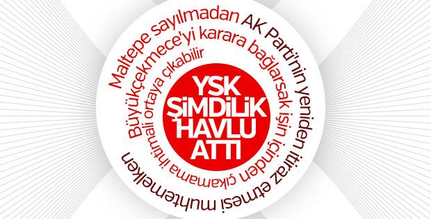 AK Parti'nin Büyükçekmece başvurusunda karar ertelendi