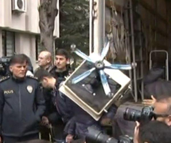 Saadet'in binasında icra işlemi gerçekleşti