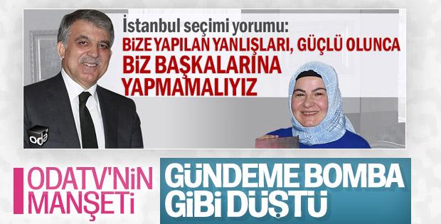 Abdullah Gül, 31 Mart seçimleriyle ilgili konuştu