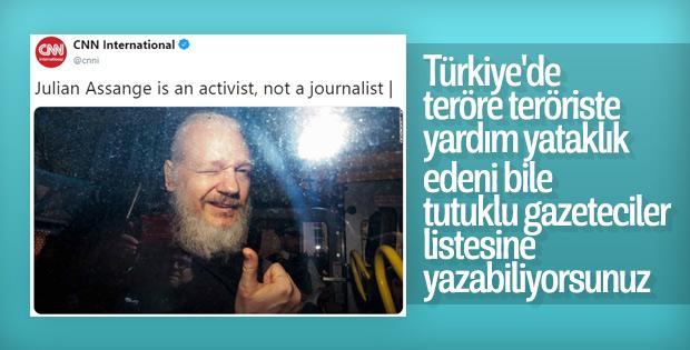 ABD basını, Assange'a gazeteci demekten kaçındı