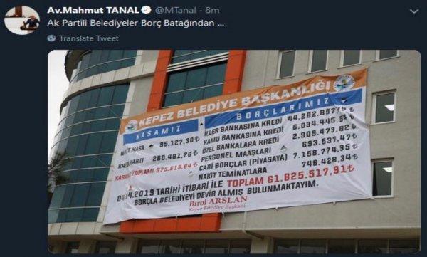 CHP'li Tanal partileri karıştırdı
