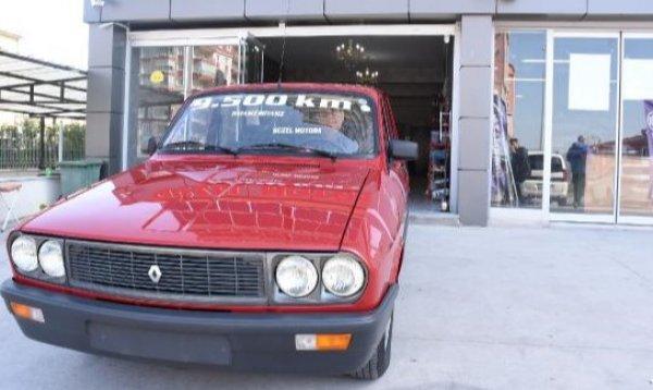1996 model otomobili, 42 bin TL'ye satın aldı