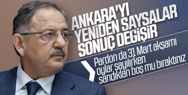 Mehmet Özhaseki'ye Ankara'daki yenilgisi soruldu