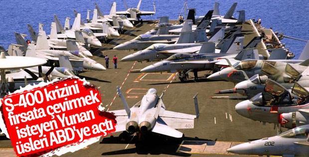 Yunanistan ABD'yle ilişkileri ileri taşıyor