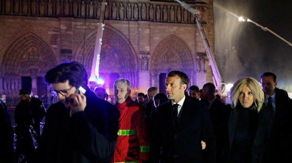 Macron, Notre Dame Katedrali için 5 yıl süre istedi