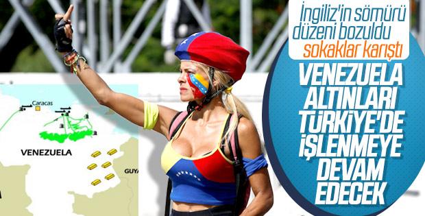 Venezuela altın satarak ayakta duruyor