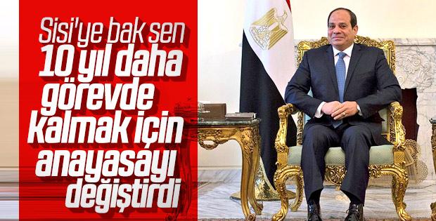 Darbeci Sisi 2030'a kadar görevde kalabilir