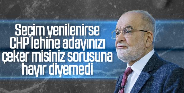 Karamollaoğlu'na İstanbul adayını çekme ihtimali soruldu