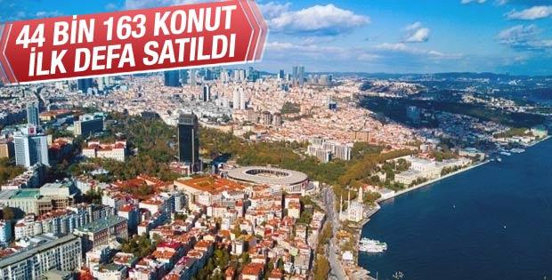 Türkiye geneli konut satış istatistikleri