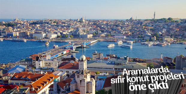 Türkiye genelinde en çok sıfır konutlar ilgi gördü