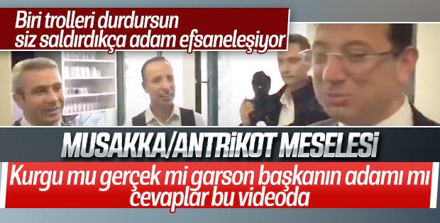 İmamoğlu'nun musakka mı antrikot mu videosunun arka planı