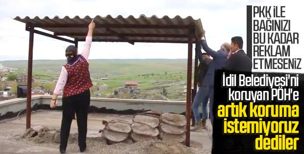 HDP, İdil Belediyesi'ndeki mevzileri yıktı