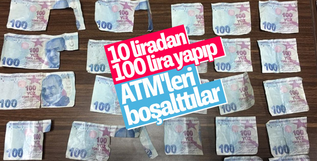 Mersin'de bankaları dolandıran çete yakalandı