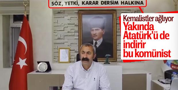 Komünist Fatih Maçoğlu'na Dersim tepkisi