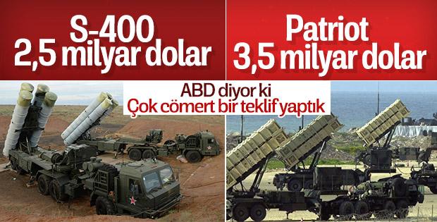 ABD: Türkiye Patriot alırsa güvenlik endişemiz kalmaz