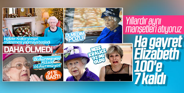Kraliçe II. Elizabeth'in 93. yaş günü