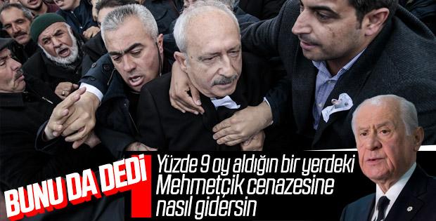 Bahçeli'den Kılıçdaroğlu'na: Neden cenazeye gittin