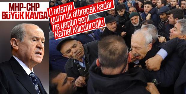 Kılıçdaroğlu'na saldırı sonrası Bahçeli'den açıklama