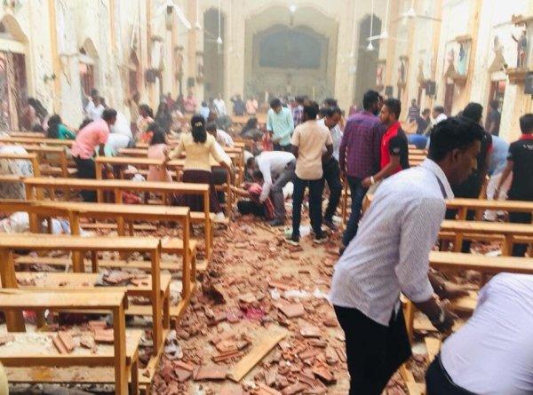 Sri Lanka'da 8 patlama meydana geldi