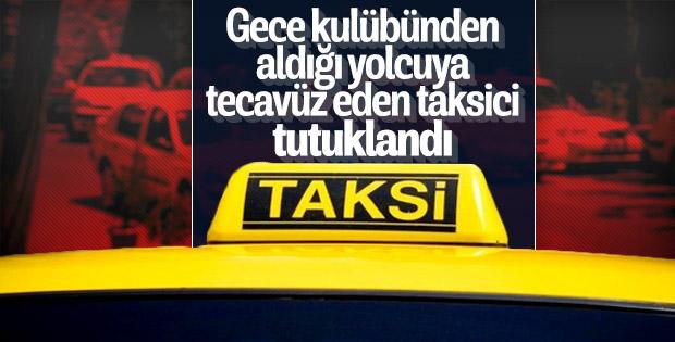 İstanbul'da taksiye binen kadın tecavüze uğradı