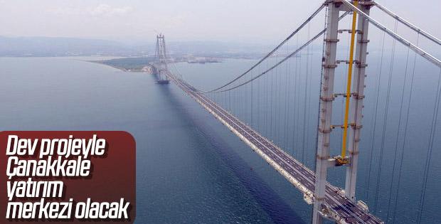 Yatırımcılar Çanakkale Köprüsü'nün olduğu bölgeye yöneldi