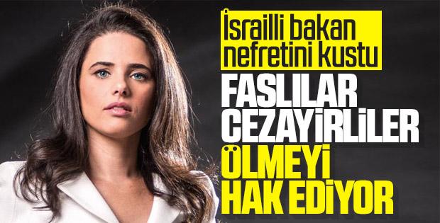 İsrailli bakanın nefret dolu sözleri
