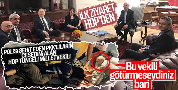 HDP'den Kılıçdaroğlu'na geçmiş olsun ziyareti