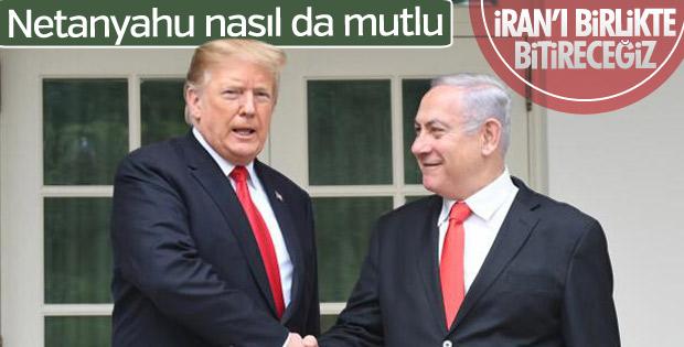 Netanyahu ABD'nin İran kararından memnun