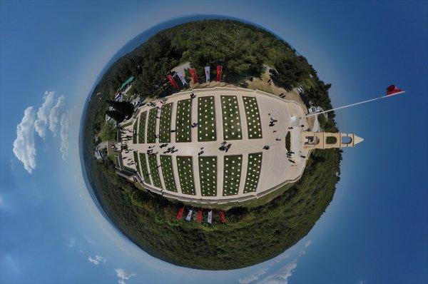 Gelibolu'nun drone'lu görüntüleri paylaşıldı