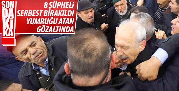Kılıçdaroğlu'na saldıran kişinin sorgusu devam ediyor