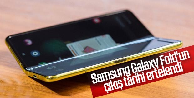 Samsung Galaxy Fold'un çıkış tarihi ertelendi