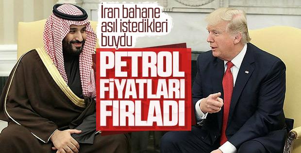 ABD'nin İran kararı petrol fiyatlarını artırdı